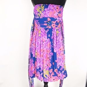 Rubber Ducky Women's Dress Size Large Strapless